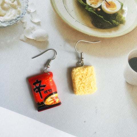 Instant Noodle Drop Earrings - [variant_title] - The Kawaii Shoppu
