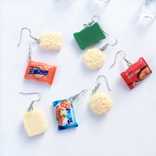 Load image into Gallery viewer, Instant Noodle Drop Earrings the-kawaii-shoppu.myshopify.com [variant_title]