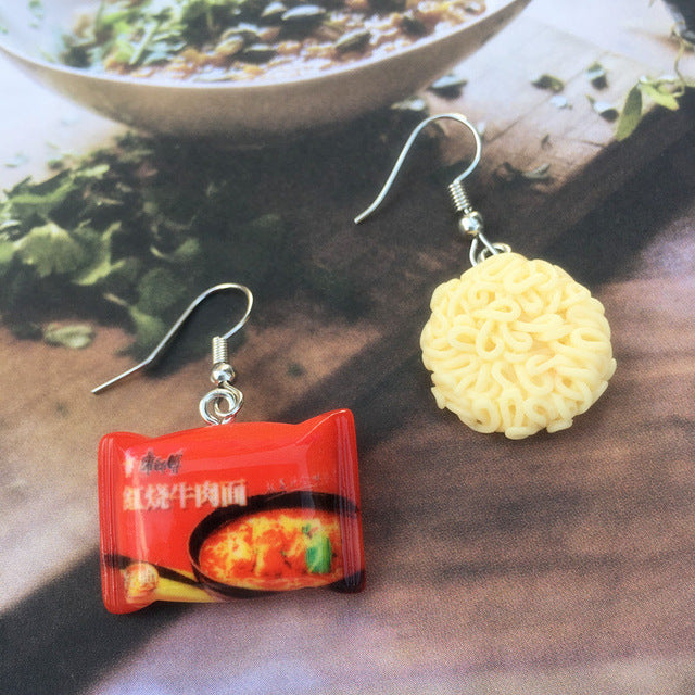 Instant Noodle Drop Earrings the-kawaii-shoppu.myshopify.com 2