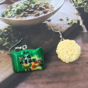 Instant Noodle Drop Earrings the-kawaii-shoppu.myshopify.com 3