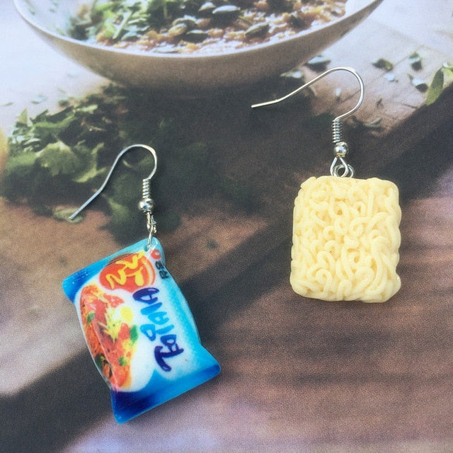Instant Noodle Drop Earrings the-kawaii-shoppu.myshopify.com 5