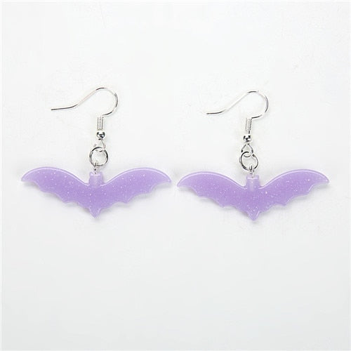 Kawaii Bat Pastel Earrings