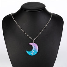 Load image into Gallery viewer, Pastel Moon Necklace