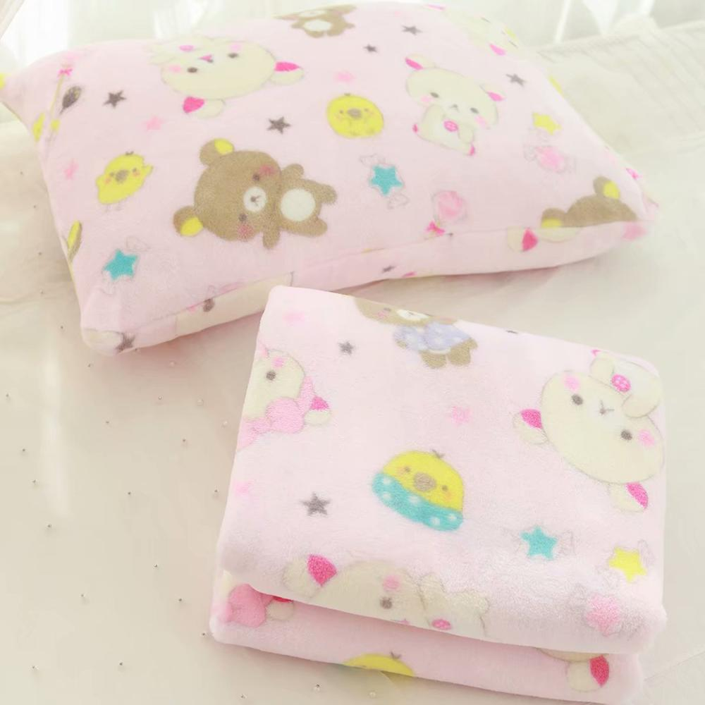 Kawaii Bear Flannel Blanket / Pillow Case the-kawaii-shoppu.myshopify.com [variant_title]