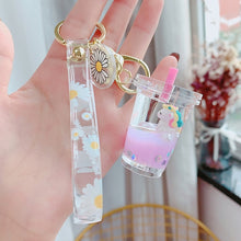 Load image into Gallery viewer, Unicorn Sparkle Kawaii Keyring