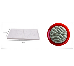 Valentines Day Cake Mold for Baking Dessert Mousse Silicone 3D Mould Silikonowe Moule Chocolate Pan Fondant