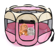 Load image into Gallery viewer, Dog Playpen Foldable Pet Exercise Pen Tents Dog Kennel House