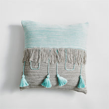Load image into Gallery viewer, Tassel Square Cushion Pillow Cover
