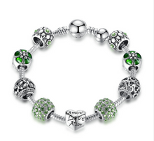 Load image into Gallery viewer, Silver Charm Bracelet