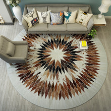 Load image into Gallery viewer, Round Carpet Nordic Simple And Modern Rug Home Decoration