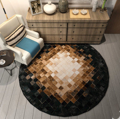 Round Carpet Nordic Simple And Modern Rug Home Decoration