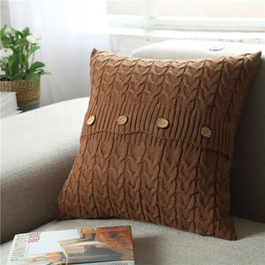 Woven Sofa Creative Nordic Simplicity Pillowcase