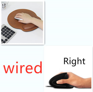 Ergonomic Vertical Wireless Mouse 6 Buttons Optical Mice
