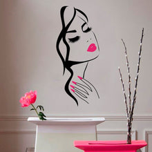 Load image into Gallery viewer, Creative New Beauty Avatar Background Wall Sticker