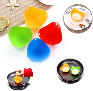 Green Silicone Egg Cooker 4 Color Silicone Egg Cooker