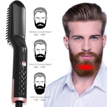 Load image into Gallery viewer, Multifunctional Electric Straightening Hair Comb Fast Irons Auto Straight Beard Brush