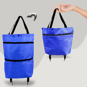 Foldable High Quality Tug Bag Shopping Cart
