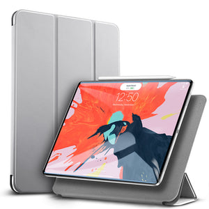 Magnetic Smart Case for iPad Pro 11 2020 Cover Trifold Stand Magnet Case Magnetic Attachment Rubberized Cover for iPad Pro11
