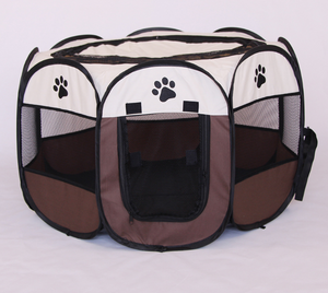 Dog Playpen Foldable Pet Exercise Pen Tents Dog Kennel House