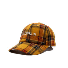 Load image into Gallery viewer, Embroidery Letter Cap Casual Wild Retro Lattice Baseball Cap