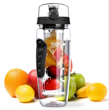 Load image into Gallery viewer, Fruit Infuser Juice Shaker Bottle Portable Climbing Camp Bottle