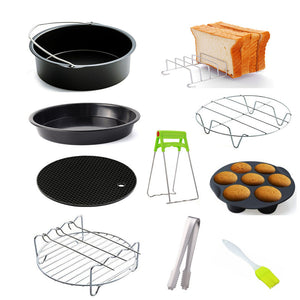 Air Fryer Accessories, Househod Utensils for Cooking and Frying