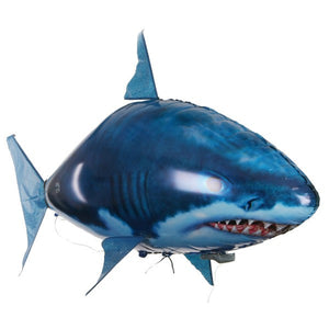 Remote Control Toy Inflatable Balloon Air Swimmer Flying Shark or Fish