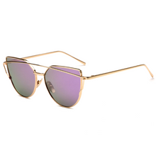 Load image into Gallery viewer, Female Vintage Gold Sunglasses