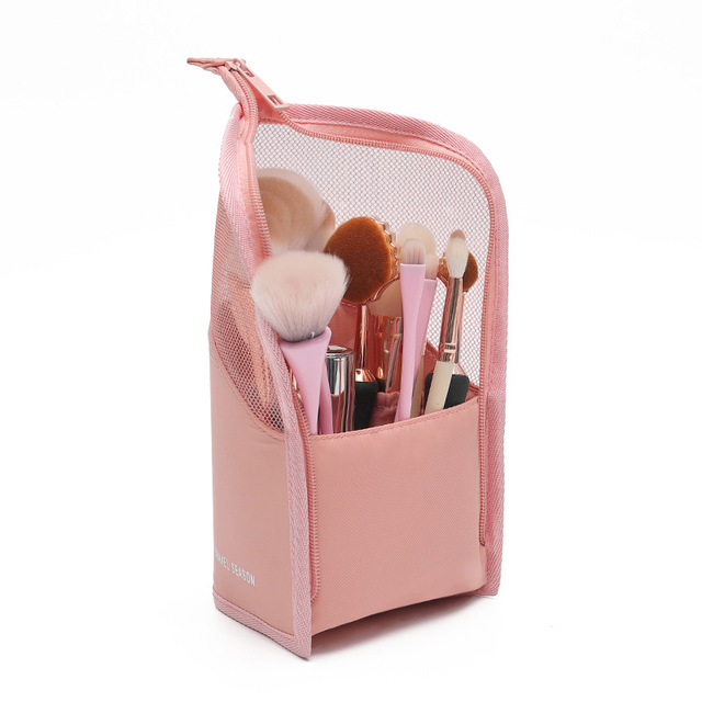 Makeup Brush Finishing Bucket Portable Storage Tube