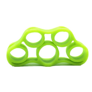 Silicone Tubing Fingers Finger Trainer Pull Ring Mouse