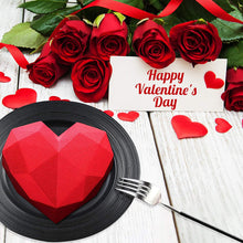 Load image into Gallery viewer, Valentines Day Cake Mold for Baking Dessert Mousse Silicone 3D Mould Silikonowe Moule Chocolate Pan Fondant
