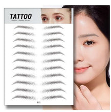 Load image into Gallery viewer, Waterproof 6D Eyebrow Tattoo Semi-Permanent Embroidery Natural Long Lasting Fake Eyebrow