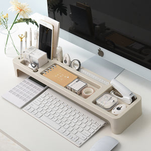 Multifunctional Keyboard Plastic Shelf