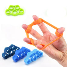 Load image into Gallery viewer, Silicone Tubing Fingers Finger Trainer Pull Ring Mouse