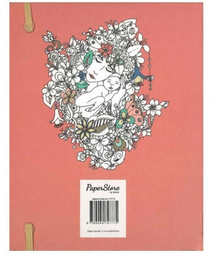 Paperstore: kleur- en notitieboek Soulful woman