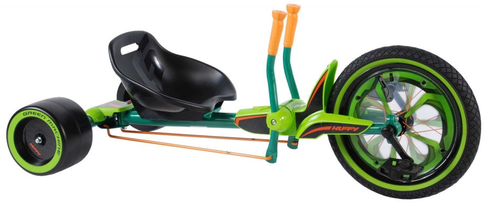 Green Machine 16 Inch Junior Zwart/