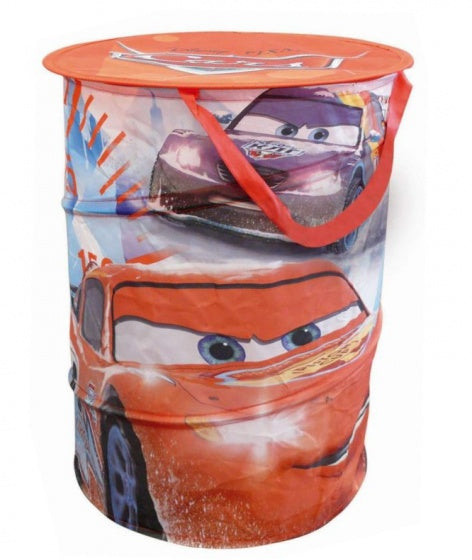 Cars wasmand pop-up jongens  38 x 50 cm