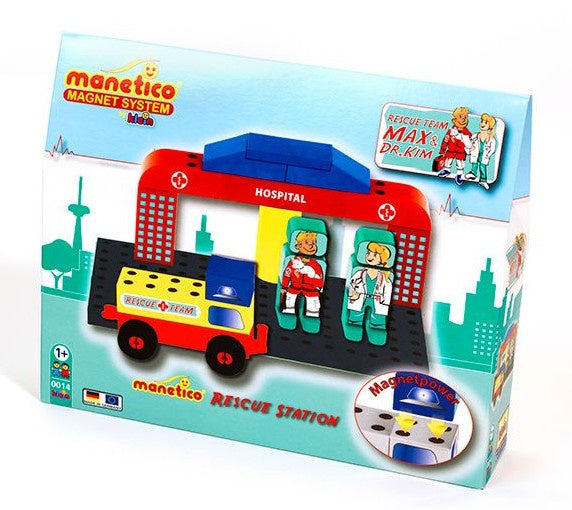 Manetico Rescue Station 16-delig