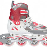 schaats/skate-combinatie junior wit/