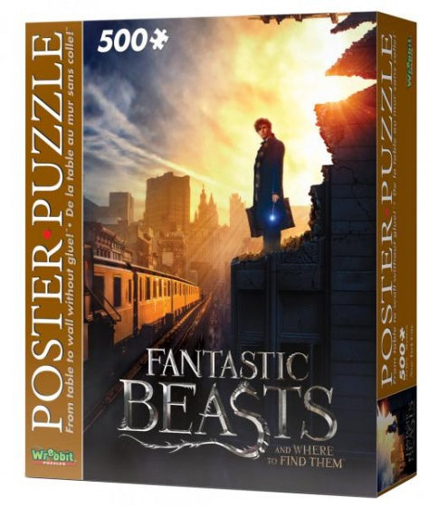 poster puzzel Fantastic Beasts New York City 500 stukjes