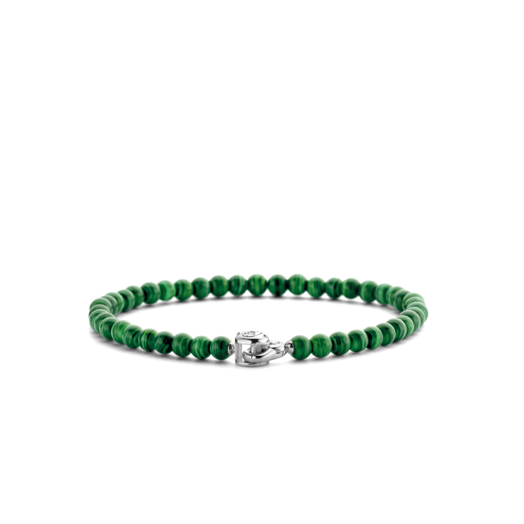 Ti Sento green beaded bracelet 2908MA