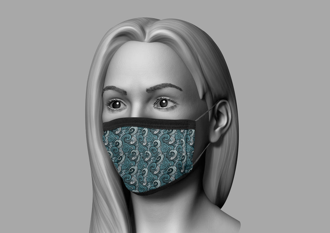 THE STANDARD FACE MASK - Tidal Wave