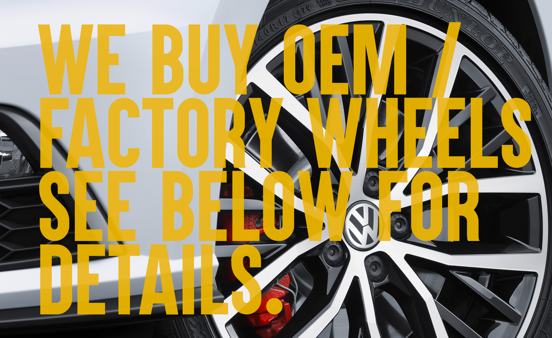 Tires and wheels: a selection of sites