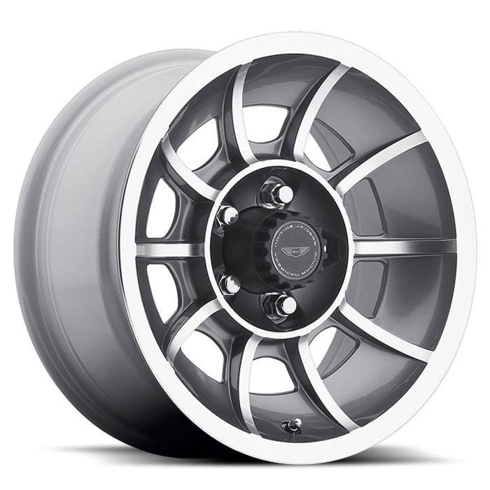 <b>American Racing</b> VN47 Vector -<br> Anthracite Grey Machined Face
