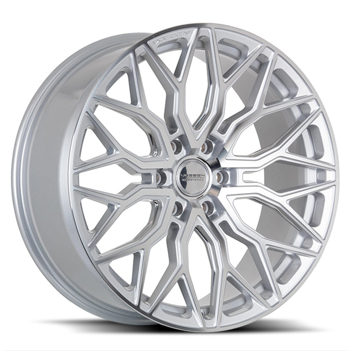 <b>Vossen</b> Hybrid Forged HF6-3 -<br> Silver Polished