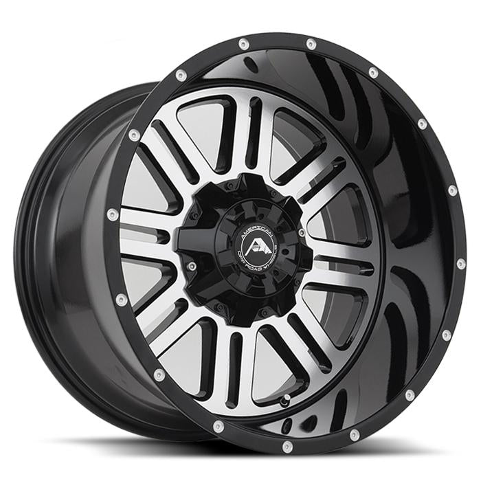 <b>American Off-Road</b> A106 -<br> Black Machined