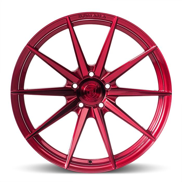<b>Rohana</b> RFX1 -<br> Gloss Red [ Rotary Forged ]