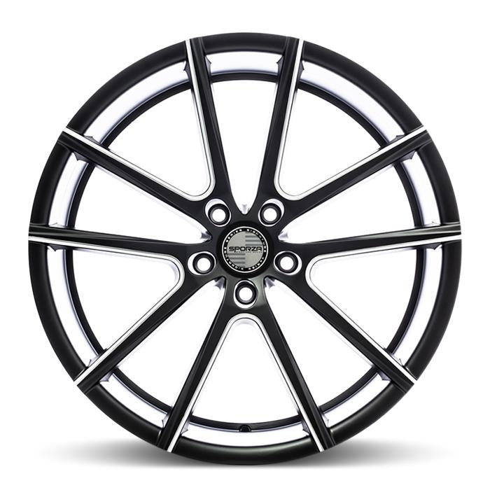 <b>Sporza</b> V5 -<br> Satin Black Milled