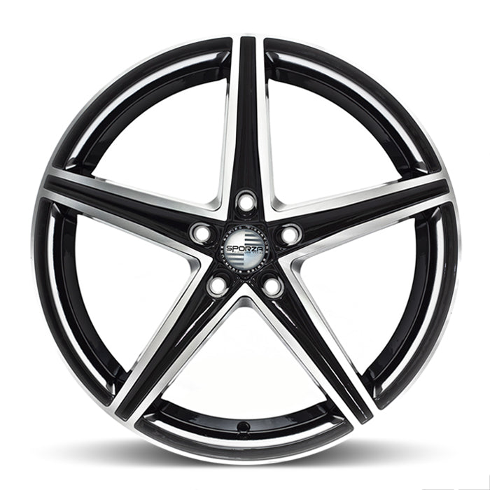 <b>Sporza</b> Topaz -<br> Gloss Black Machined