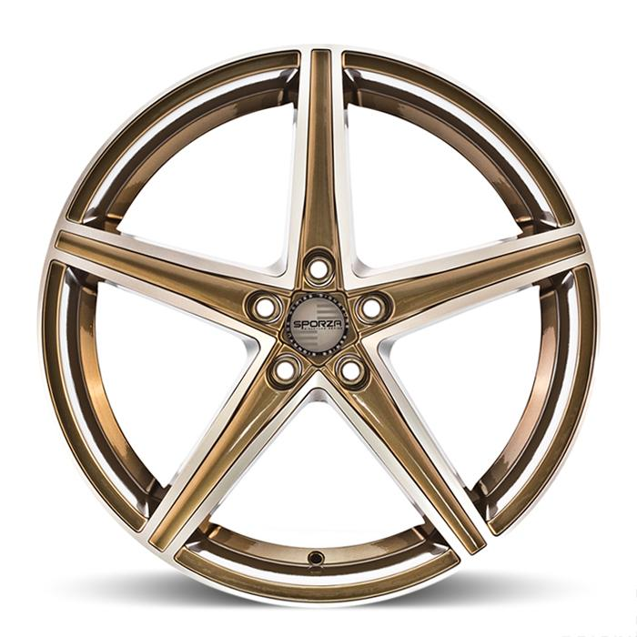 <b>Sporza</b> Topaz -<br> Gloss Bronze Machined